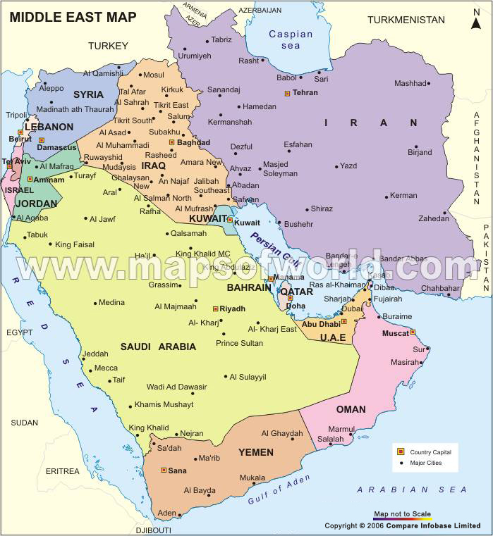 bolariku map of middle east and europe